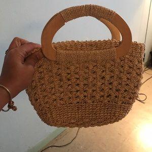 Handbags - Hand  woven summer purse